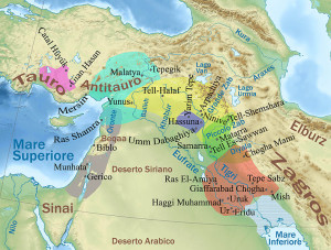cultures of the Middle Halaf period (5200-4500 BC). CC-BY Pequod76